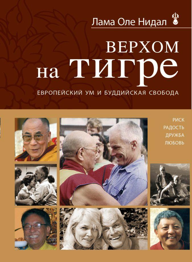 Лама Оле Нидал - Верхом на тигре. Европейский ум и буддийская свобода обложка книги
