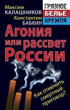 Калашников М., Бабкин К. - Агония или рассвет России. Как отменить смертный приговор?' обложка книги