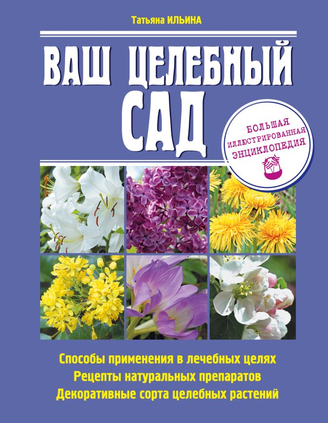 Ильина Т.А. - Ваш целебный сад обложка книги