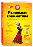 Прус Н.А. - Испанская грамматика в таблицах и схемах' обложка книги