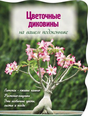 Волкова Е.А. - Цветочные диковины на вашем подоконнике (Вырубка. Цветы в саду и на окне) обложка книги
