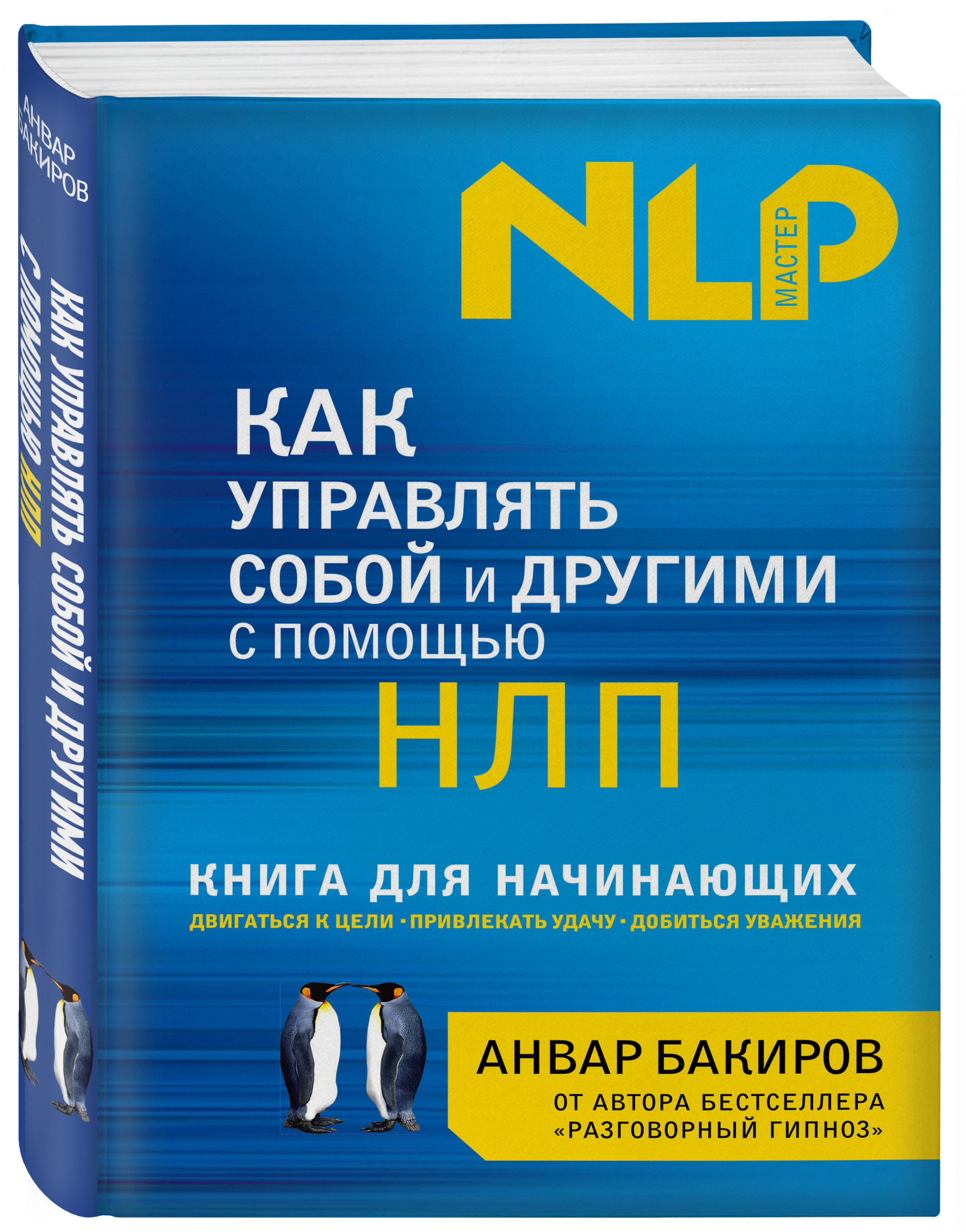 Анвар Бакиров Как управлять собой и другими с помощью НЛП. Книга для начинающих