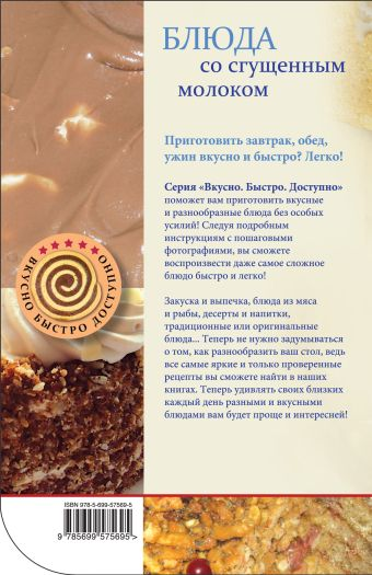 Блюда со сгущенным молоком Савинова Н.А.
