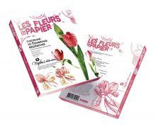 Плетение из бумажных веревочек Набор №6. Первый тюльпан
