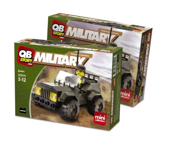 QBStory. Military. Джип
