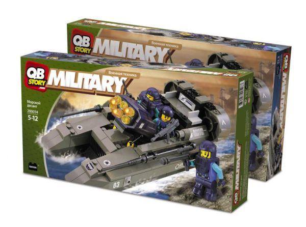 Конструктор QBStory. Military. Морской десант