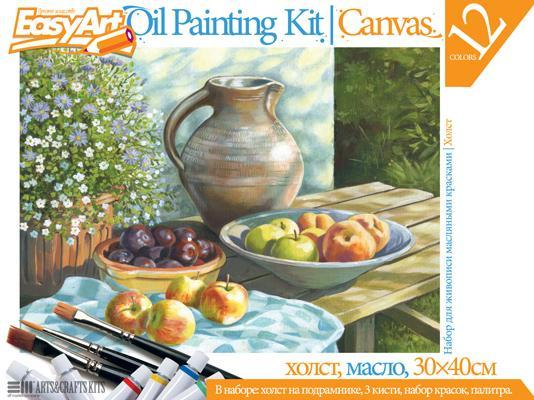 Набор для живописи масляными красками № 2 Кувшин с фруктами