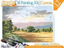 Набор для живописи масляными красками № 4 Сельский пейзаж