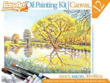 Набор для живописи масляными красками № 7 Пруд
