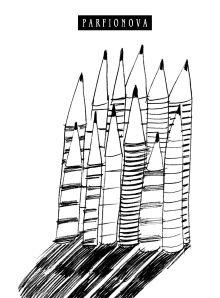 Блокнот для записей «12 карандашей»