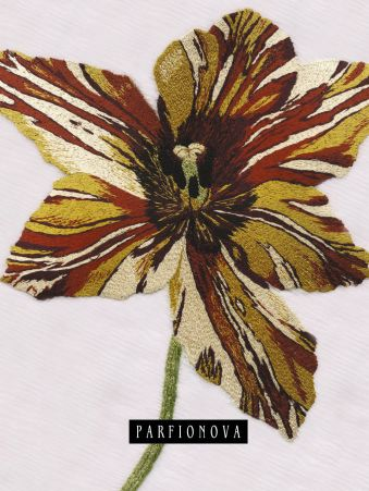 Блокнот для записей «Раскрытый тюльпан» Парфенова Т.В.