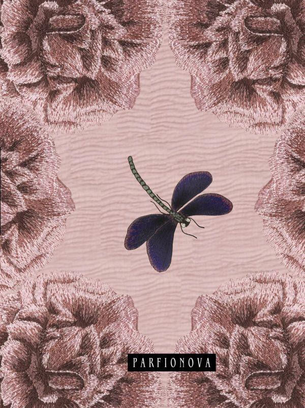 Блокнот для записей «Мальва. Стрекоза» Парфенова Т.В.