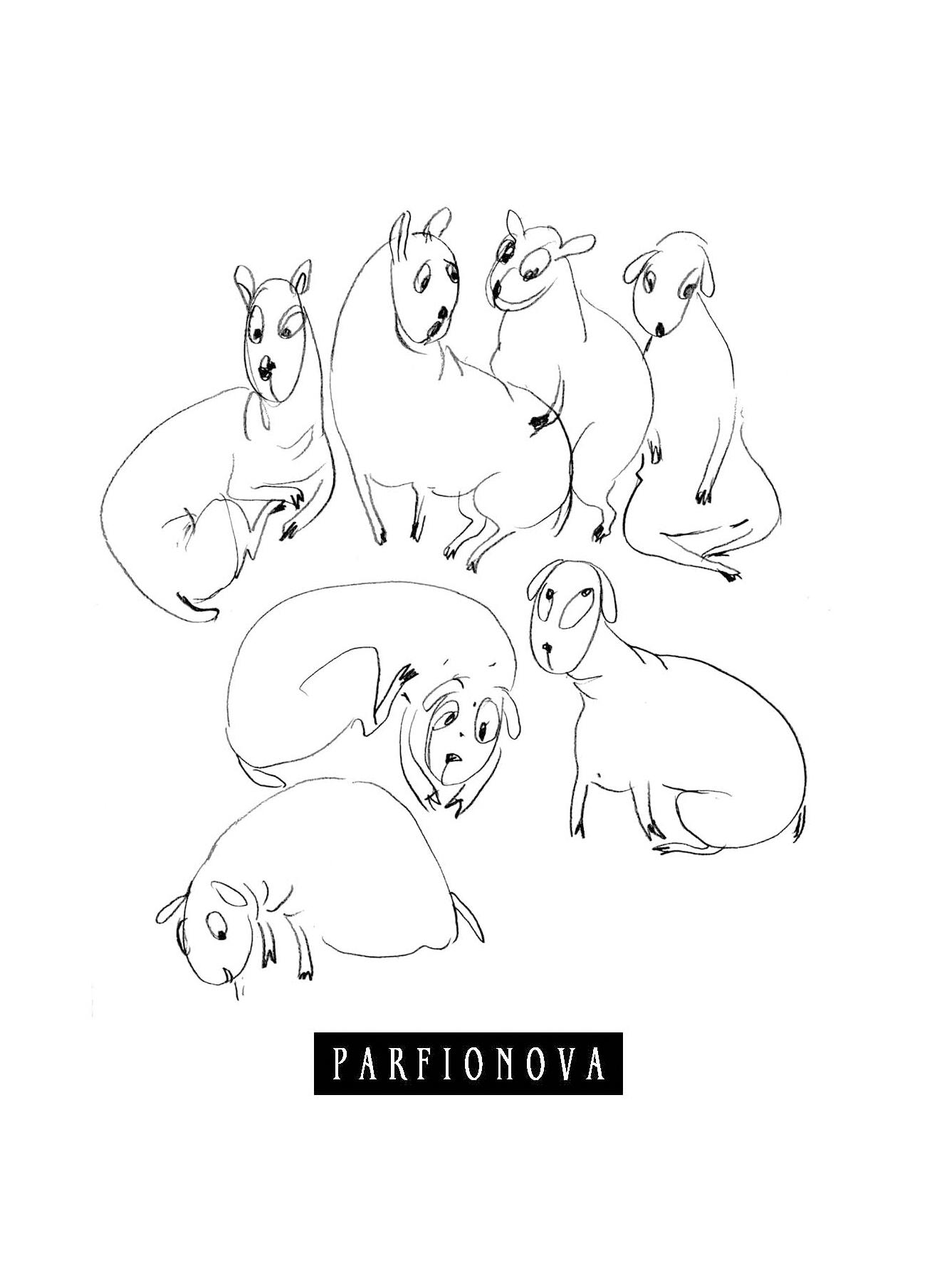 Парфенова Т.В. Блокнот для записей «Игрушки. Овцы»