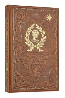 Дорогие книги для дорогих людей. Эксклюзивное оформление в кожаном переплете ручной работы. Великие полководцы