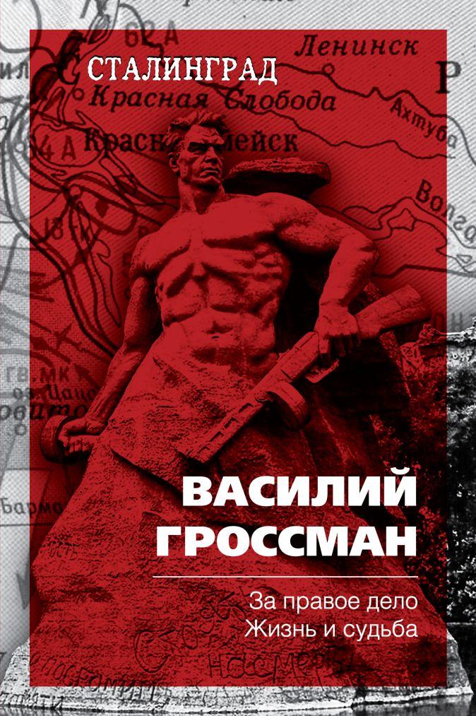 Василий Гроссман - За правое дело. Жизнь и судьба обложка книги