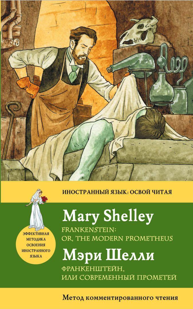 М. Шелли - Франкенштейн, или современный Прометей = Frankenstein: or, the Modern Prometheus : метод комментированного чтения обложка книги