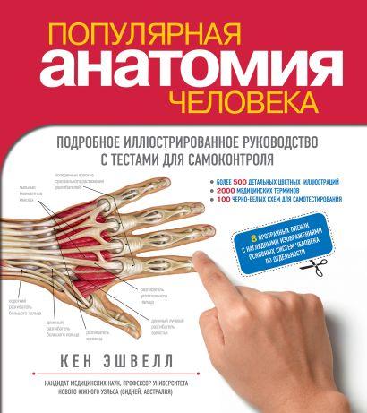 Популярная анатомия человека. Подробное иллюстрированное руководство с тестами для самоконтроля - фото 1