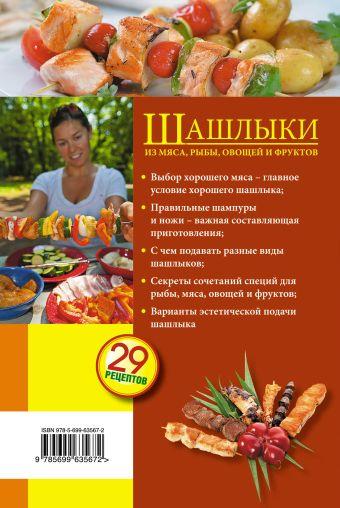 Шашлыки из мяса, рыбы, овощей и фруктов