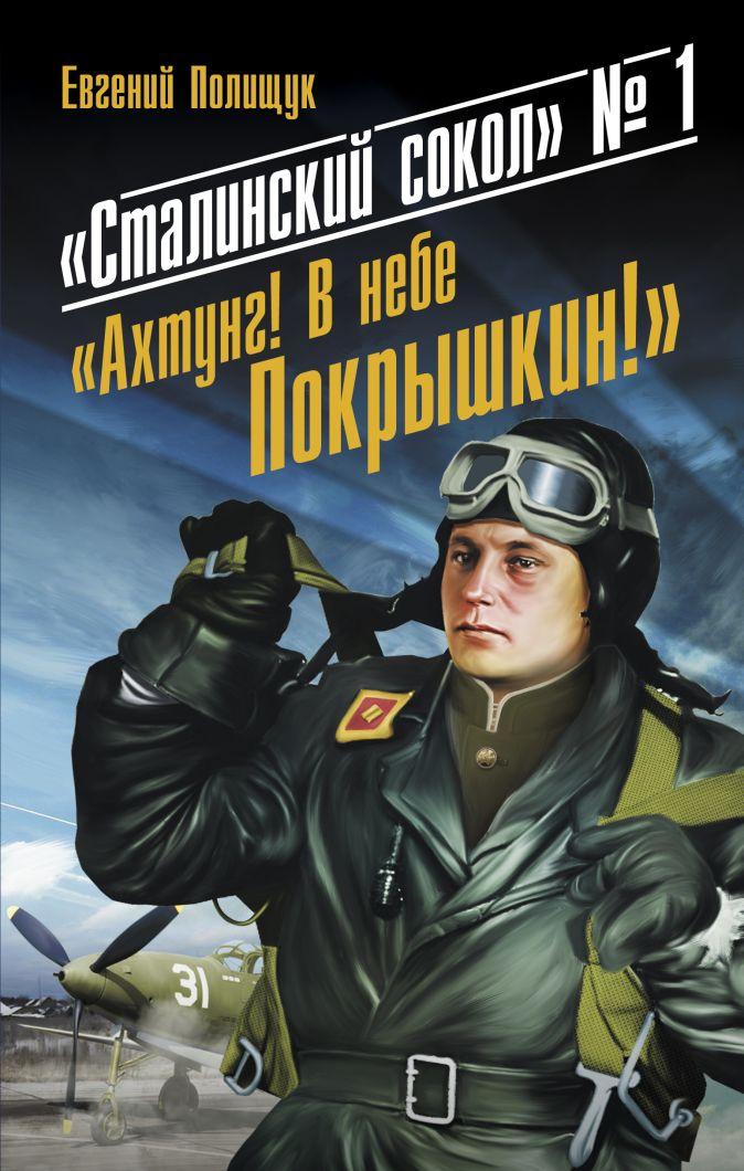 Полищук Е. - «Сталинский сокол» № 1. «Ахтунг! В небе Покрышкин!» обложка книги