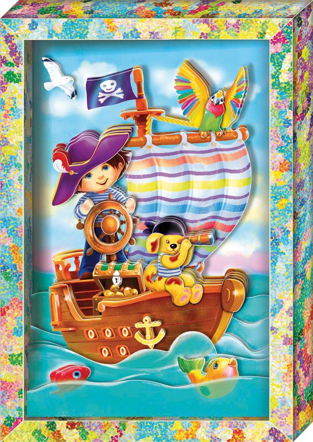 Пират. Набор для изготовления картины