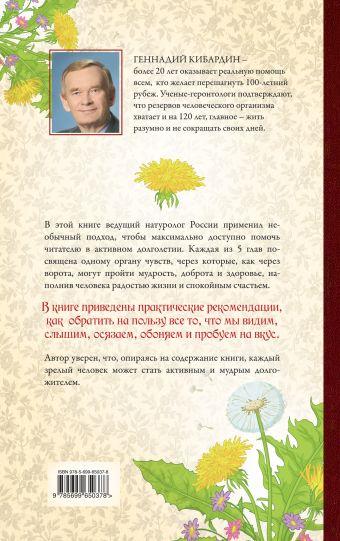 5 наших чувств для здоровой и долгой жизни: практическое руководство Кибардин Г.М.