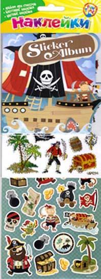 Fun time Наклейки. Пираты