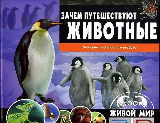 Зачем путешествуют животные. По земле, под водой и в воздухе(книга+стереоочки) Баголи И.