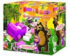 Машинка для создания стикеров, Маша и Медведь