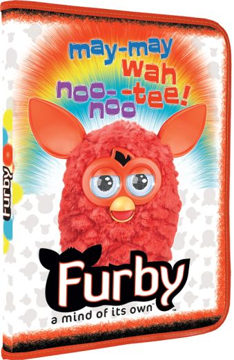Папка для труда А4 Furby 484х324 мм, молния с 3-х сторон