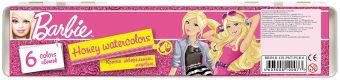 Акварель  6цв Barbie