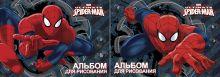 Альбом для рисования 20л клей Spiderman выб УФ