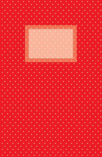 Блокнот для записей Винтажный горошек А5