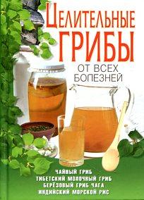 Целительные грибы от всех болезней.Чайный гриб,тибетский молочный гриб,берёзовый гриб чага, индийский морской рис Шкитина Е.Н.