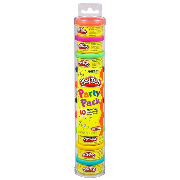 Play-Doh Пластилин: Набор для праздника в тубусе (22037) PLAY-DOH