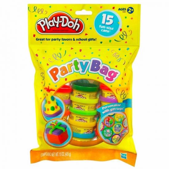 Play-Doh Набор пластилина для праздника (15 банок) (18367) hasbro play doh игровой набор из 3 цветов цвета в ассортименте с 2 лет