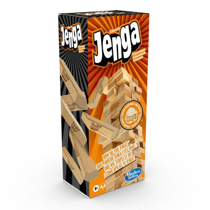 GAMES - Настольная игра «Дженга» обложка книги