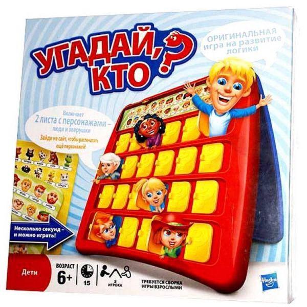 Игра Угадай, Кто? (Настольная игра) (05801) GAMES