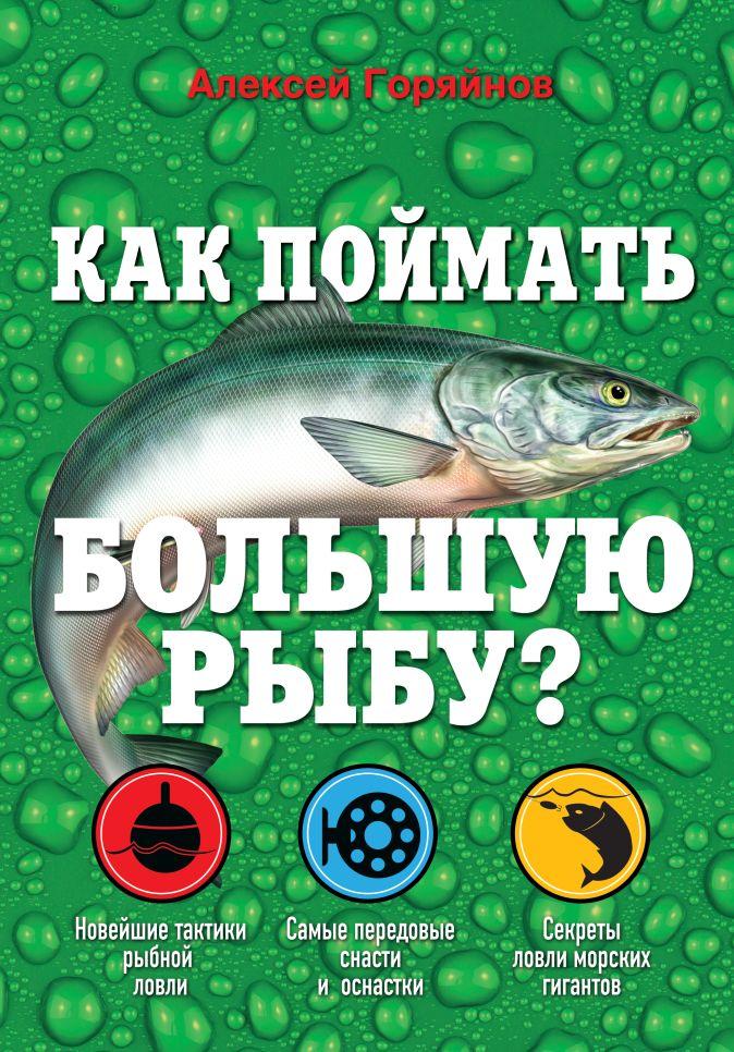 Алексей Горяйнов - Как поймать большую рыбу? обложка книги