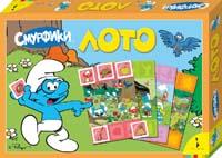 The Smurfs - Смурфики. Лото (Благоразумник) обложка книги