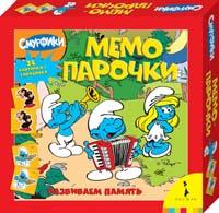 The Smurfs - Смурфики. Мемо-парочки обложка книги