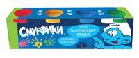 The Smurfs - ПАЛЬЧИКОВЫЕ КРАСКИ 4Х50 мл, Смурфики обложка книги