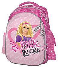 Рюкзак Barbie с ортопедической спинкой 37х27х13 + 4 см