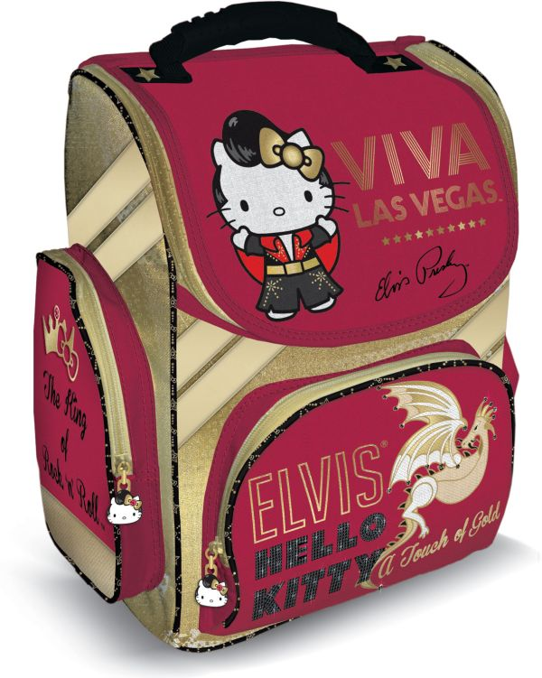 Рюкзак Hello Kitty спинка - толстый поролон33х25х13