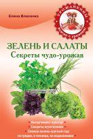 Власенко Е.А. - Зелень и салаты. Секреты чудо-урожая' обложка книги