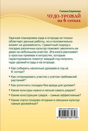 Чудо-урожай на 6 сотках (Урожайкины. Всегда с урожаем) Серикова Г.А.