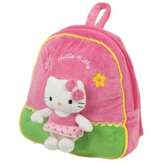"Мягкий Рюкзак ""Мульти-Пульти"" Hello Kitty, С Мягкой Игрушкой В Пак. 27См"