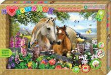 Я люблю лошадок. Набор для изготовления картины
