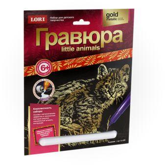 "Гравюра Little ANIMALS ""Рысенок"""