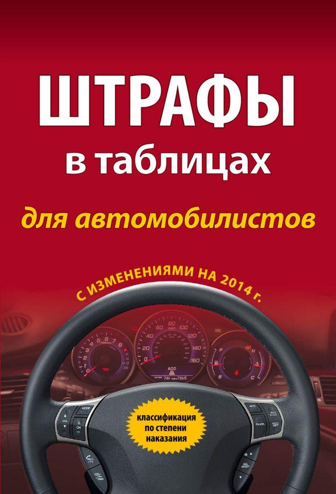 Штрафы в таблицах для автомобилистов с изм. на 2014 г. (классификация по степени наказания)