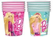 """Стакан бумажный """"БАРБИ"""", 250 мл,10 штук, 2 дизайна в ассортименте, т.м. Barbie"""